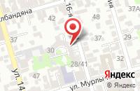 Схема проезда до компании Контур в Ростове-На-Дону