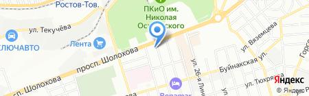 Биомастер+ на карте Ростова-на-Дону