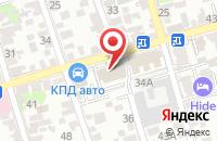 Схема проезда до компании Энергоавтоматика в Ростове-На-Дону