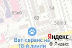 Схема проезда до компании Партнер-Эстетик в Ростове-на-Дону