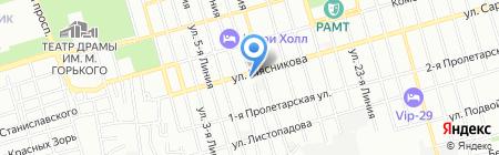 СМТ на карте Ростова-на-Дону