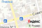 Схема проезда до компании Ростов Реклама 61 в Ростове-на-Дону