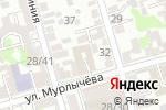 Схема проезда до компании Профессионал в Ростове-на-Дону