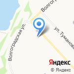 Ярославльводоканал на карте Ярославля