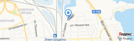 Русские карнизы на карте Батайска