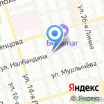 Живое Пенное на карте Ростова-на-Дону
