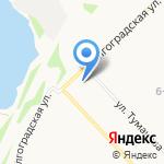 Ксения на карте Ярославля