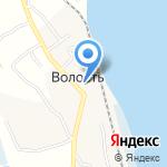 Почтовое отделение на карте Архангельска