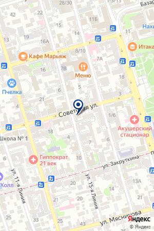 МОУ ШКОЛА СРЕДНЕГО ОБЩЕГО ОБРАЗОВАНИЯ №1 на карте Советской