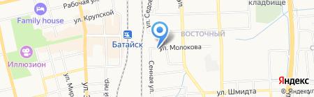 Библиотека им. В.В. Маяковского на карте Батайска