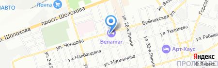 ДонВино на карте Ростова-на-Дону