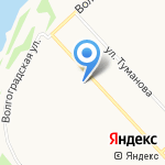 Дельта на карте Ярославля