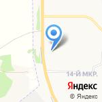 Автомат по продаже незамерзающей жидкости на карте Ярославля