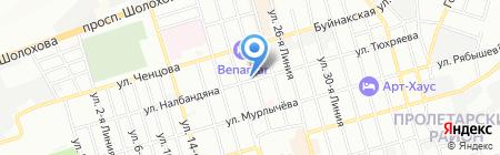 Фейерверк Юг на карте Ростова-на-Дону