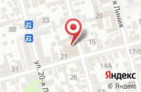 Схема проезда до компании Экспертное Бюро в Ростове-На-Дону
