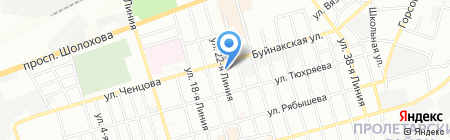 Интерьер Маркет на карте Ростова-на-Дону