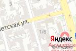 Схема проезда до компании Кристина в Ростове-на-Дону