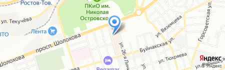 Триколор ТВ на карте Ростова-на-Дону