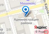 Информационная диспетчерская служба Пролетарского района на карте