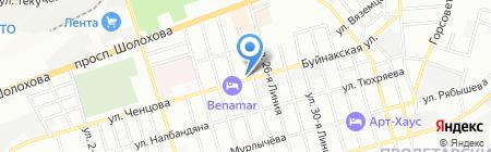 Промполимер на карте Ростова-на-Дону