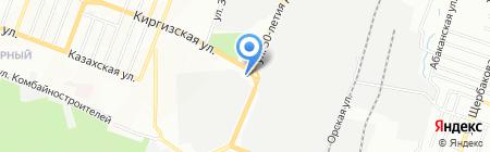 Парад камней на карте Ростова-на-Дону