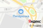 Схема проезда до компании Атаман в Ростове-на-Дону