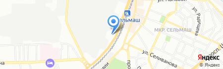 Единая Европа-Элит на карте Ростова-на-Дону