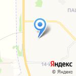 Верный на карте Ярославля