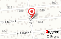 Схема проезда до компании Гостевой дом в Батайске