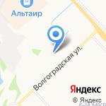 Автон на карте Ярославля