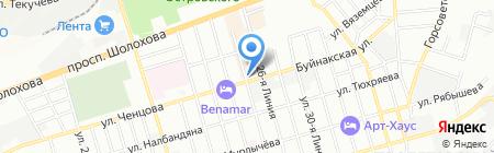 Агрофирма Лоза на карте Ростова-на-Дону