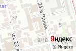 Схема проезда до компании РоМа в Ростове-на-Дону