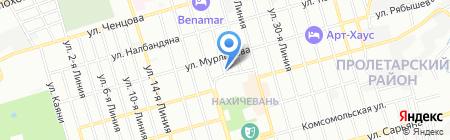 Константа на карте Ростова-на-Дону