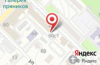 Схема проезда до компании Торговый Дом «Стеклопродукт» в Рязани