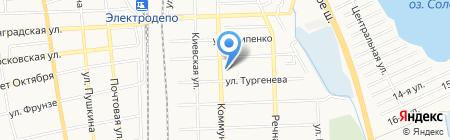 Автолайн на карте Батайска