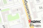 Схема проезда до компании Авантаж в Рязани
