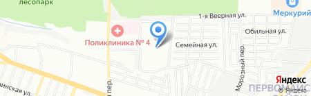 Аптечка на карте Ростова-на-Дону