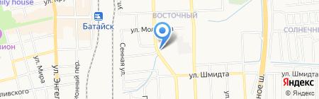 Автомойка на Коммунистической на карте Батайска
