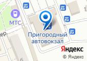 Пригородный автовокзал на карте
