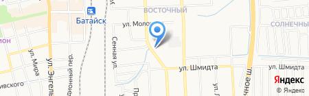 Уголовно-исполнительная инспекция по г. Батайск на карте Батайска