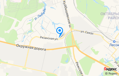 Местоположение на карте пункта техосмотра по адресу г Рязань, тер. ГСК а.к. Весенний, д 53