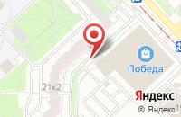 Схема проезда до компании Лига Ставок в Ярославле