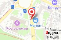 Схема проезда до компании Издательство «Полиграф» в Ростове-На-Дону