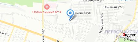 Великолепная Долорес на карте Ростова-на-Дону