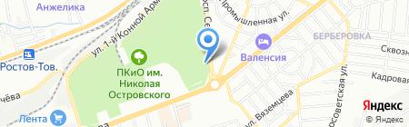 Старый Арбат на карте Ростова-на-Дону