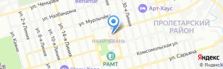 Налина на карте Ростова-на-Дону