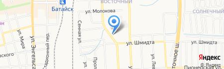 Магазин хозтоваров на Коммунистической на карте Батайска