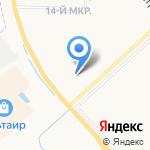 Элисс на карте Ярославля