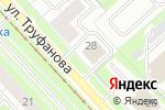 Схема проезда до компании Дельфин в Ярославле