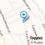 Храм Архангела Михаила на карте Ярославля